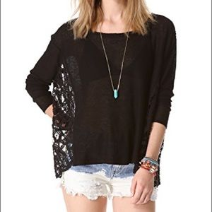 Free People Love Me Do Knit Top XS